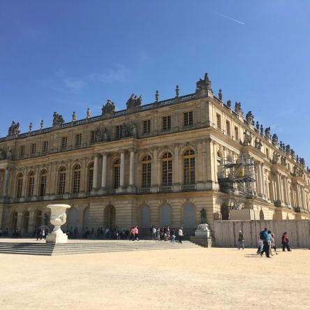 castel of versailles in versailles france
