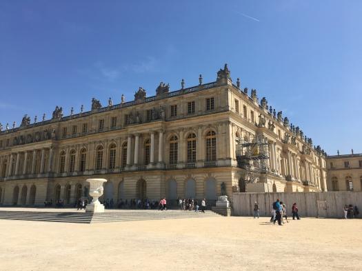 castel of versailles in versailles france