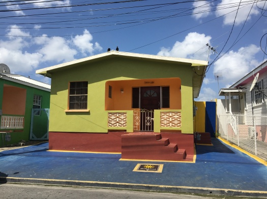 Picture of Rihanna's childhood home in St. Michael Barbados